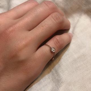 ヨンドシー(4℃)の4℃ チェーンリング(リング(指輪))