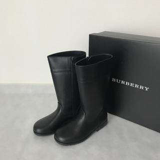 バーバリー(BURBERRY)のBURBERRY 17cm ブーツ(ブーツ)