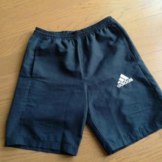 アディダス(adidas)のadidas 短パン黒 12~13歳(パンツ/スパッツ)