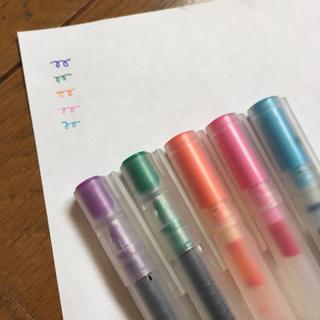 無印良品 カラーペン セット