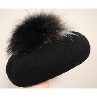 カシラ(CA4LA)のCA4LAベレー帽(ハンチング/ベレー帽)