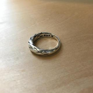 アンプジャパン(amp japan)のAMP JAPAN Silrver 925 Braided Ring(リング(指輪))