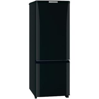 ミツビシ(三菱)のMITSUBISHI 2ドア冷凍冷蔵庫 168L(冷蔵庫)