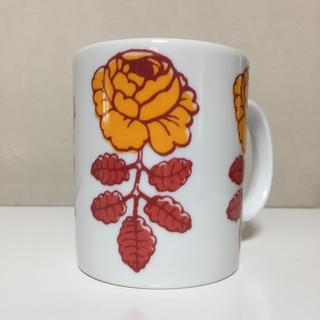 マリメッコ(marimekko)の専用【未使用】マリメッコ  ヴィヒキルース  2006年限定マグカップ オレンジ(グラス/カップ)