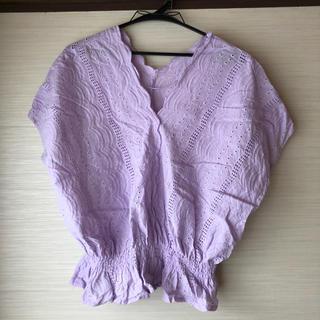 ジーユー(GU)のGU ブラウス (シャツ/ブラウス(半袖/袖なし))