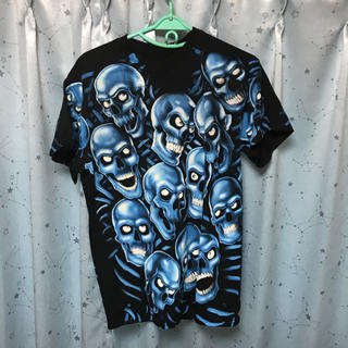 シュプリーム(Supreme)のLIQUIDBLUE S/STEE SKULL GROW IN THE DARK(Tシャツ(半袖/袖なし))