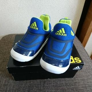 アディダス(adidas)のアディダス ハイマ スリッポン 16㎝ ブルー(スリッポン)