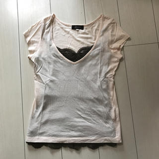 ジャスグリッティー(JUSGLITTY)のJUSGLITTY♡ジャスグリッティー♡Tシャツ&キャミセット(Tシャツ(半袖/袖なし))