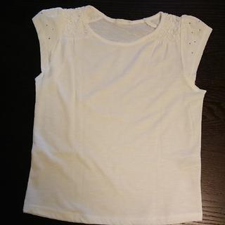 ジーユー(GU)のguカットソー白130(Tシャツ/カットソー)
