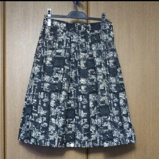ザラ(ZARA)の【最終値下げ】ZARAツイードスカート ウエスト72㎝(ひざ丈スカート)