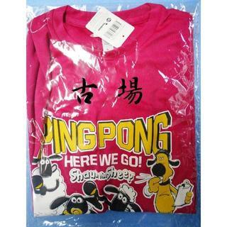 ドニック(DONIC)のDONIC/ドニック★ひつじのショーンTシャツ2018★ピンク★Sサイズ(卓球)