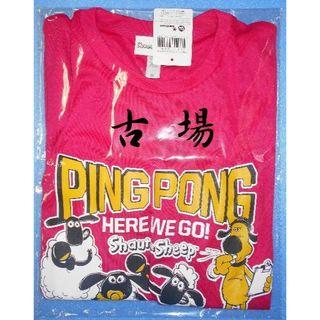 ドニック(DONIC)のDONIC/ドニック★ひつじのショーンTシャツ2018★ピンク★Mサイズ(卓球)