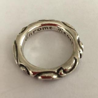 クロムハーツ(Chrome Hearts)の15号  スクロールバンドリング  クロムハーツ(リング(指輪))