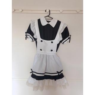 ボディライン(BODYLINE)のコスプレ メイド服 黒✱ボディーライン(衣装一式)