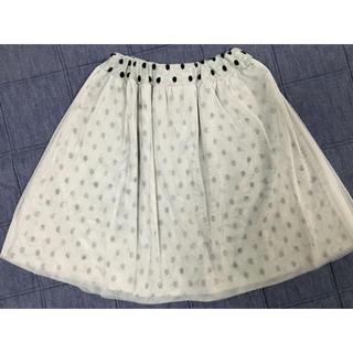 マーキーズ(MARKEY'S)のMARKEYS ドットスカート CALMIA  L(140㎝)(スカート)