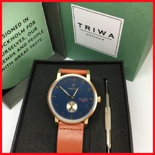 トリワ(TRIWA)の即戦力 ✨ トリワ ファルケン ネイビー メンズ(腕時計)