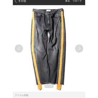 ジエダ(Jieda)のJieda side line denim pants (最終値下げ)(デニム/ジーンズ)