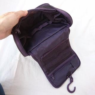 ムジルシリョウヒン(MUJI (無印良品))のMUJI ポリエステル吊して使える洗面用具ケース(トラベルバッグ/スーツケース)