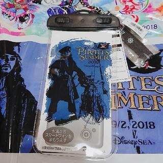 ディズニー(Disney)の新商品☆パイレーツ 2018 防水 スマホケース(モバイルケース/カバー)