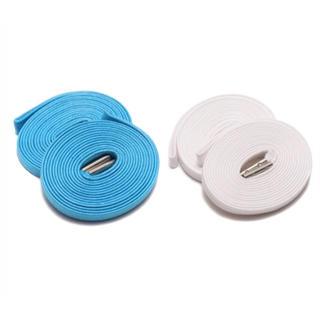 ナイキ(NIKE)のkixsix 2P (L.BLUE-WHITE/silver) キックスシックス(その他)