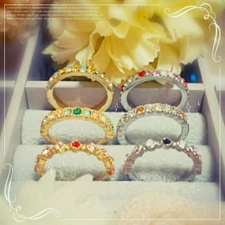 セミオーダー☆ハーフエタニティリング(リング(指輪))