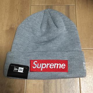 シュプリーム(Supreme)のSupreme New Era Box Logo Beanie ビーニーkJ(ニット帽/ビーニー)