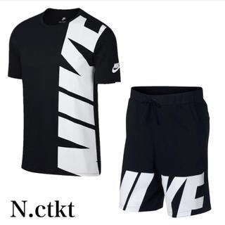 ナイキ(NIKE)の2018年新作春夏モデル✨NIKE BIGLOBE セットアップ 上下 (Tシャツ/カットソー(半袖/袖なし))