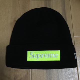 シュプリーム(Supreme)のSupreme New Era Box Logo Beanie ビーニー13(ニット帽/ビーニー)