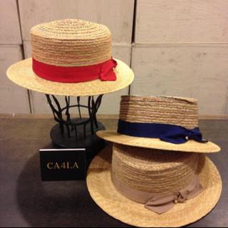 カシラ(CA4LA)の7月28まで値下げ ca4laカンカン帽 gentleman pittiuomo(ハット)