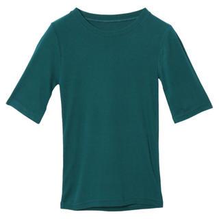 アメリヴィンテージ(Ameri VINTAGE)のAMERI COMPACT RIB PULL OVER(Tシャツ/カットソー(七分/長袖))