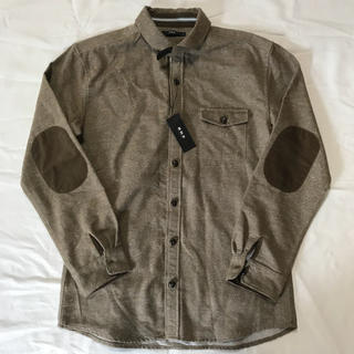 エービーエックス(abx)の【新品】abx エービーエックスシャツ エルボーパッチシャツ(シャツ)