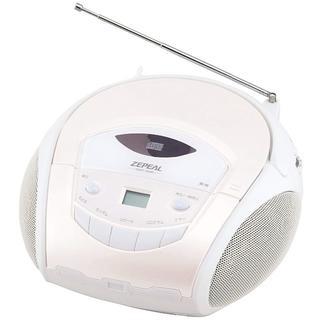ZEPEAL ポータブルCDラジオ 「ワイドFM対応」 DCR-T816(ポータブルプレーヤー)
