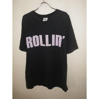 カズロック(KAZZROCK)のy1000KAZZROCK★カズロック★プリントTシャツ★レア★XL★90's(Tシャツ/カットソー(半袖/袖なし))