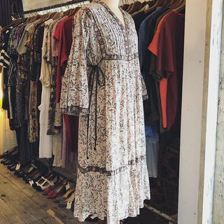 ロキエ(Lochie)の  vintage dress(ロングワンピース/マキシワンピース)