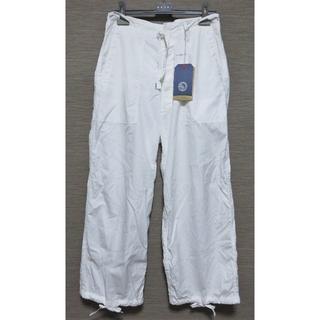 エンジニアードガーメンツ(Engineered Garments)の新品 KAPTAIN SUNSHINE イージー パンツ 30 メンズ ホワイト(ワークパンツ/カーゴパンツ)