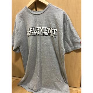 エレメント(ELEMENT)の新品 未使用品 ELEMENT エレメント Tシャツ L(Tシャツ/カットソー(半袖/袖なし))