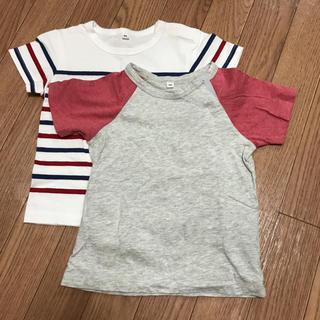 ムジルシリョウヒン(MUJI (無印良品))の無印Tシャツ2枚セット90(Tシャツ/カットソー)