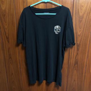 ザラ(ZARA)のZARA MAN 男女兼用 Mサイズ ブラックカラー 半袖teeシャツ 正規品(Tシャツ/カットソー(半袖/袖なし))