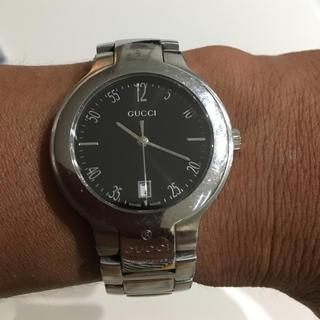 グッチ(Gucci)の【7/12電池交換済】GUCCI グッチ メンズ 腕時計 8900M(腕時計(アナログ))