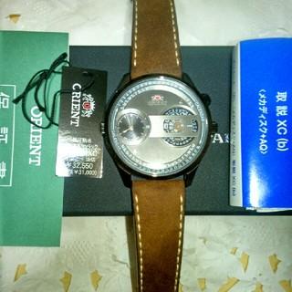 オリエント(ORIENT)のオリエント スタイリッシュ&スマート デュアルタイム WV0061XC(腕時計(アナログ))
