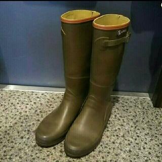エーグル(AIGLE)のAIGLE レインブーツ 長靴 39 防災 キャンプ(レインブーツ/長靴)