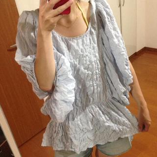 シェル(Cher)のcher♡ストライプブラウス♡(シャツ/ブラウス(半袖/袖なし))