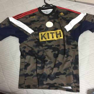 アディダス(adidas)のKITH ADIDAS SOCCER rays 上下セット camo サイズ M(Tシャツ/カットソー(半袖/袖なし))