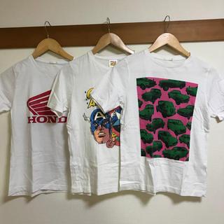 ジーユー(GU)の150サイズTシャツ(Tシャツ/カットソー)