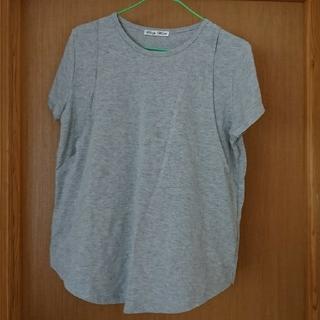 授乳口付きTシャツ