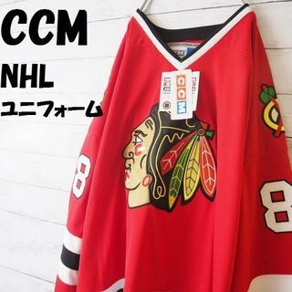 シーシーエム(CCM)のごりごりくんさん専用CCM NHL インディアンスオフィシャルユニフォーム(シャツ)