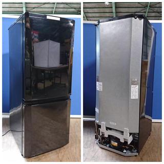 ミツビシデンキ(三菱電機)の高級仕様 大きめ 146L 霜取り不要(冷蔵庫)