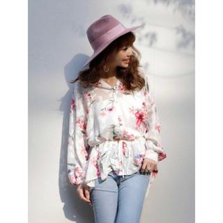エイミーイストワール(eimy istoire)のeimy♥ spring flower オーバーシャツ(シャツ/ブラウス(長袖/七分))