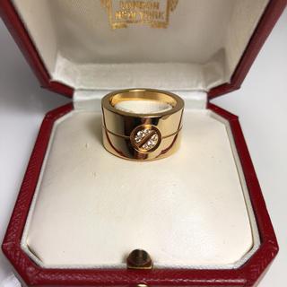 カルティエ(Cartier)のカルティエハイラブリングK18イエローゴールド(リング(指輪))