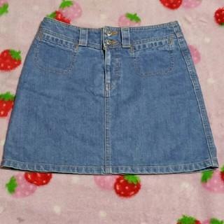アルバローザ(ALBA ROSA)のアルバローザ デニム台形スカート(ミニスカート)